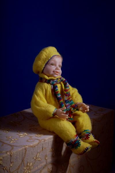Авторская кукла   Антошка