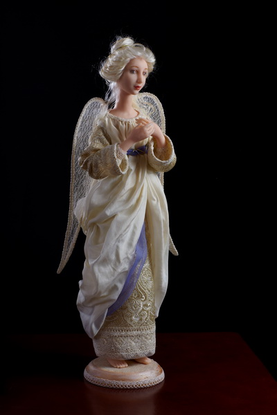 Авторская кукла   Лучезарный ангел