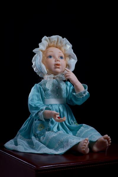 Авторская кукла Леля