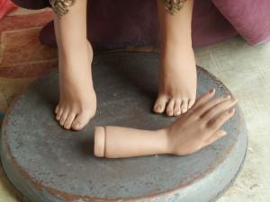 кукольные ручки и ножки