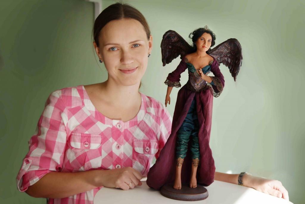 Новая кукла Птица Татьяна Малушкина